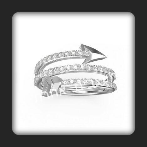 טבעת בשבילה דגם חץ