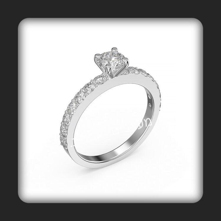 טבעת אירוסין דגם דורין