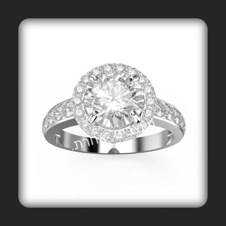 טבעת אירוסין דגם עדן