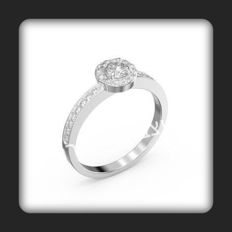 טבעת אירוסין דגם מיקה