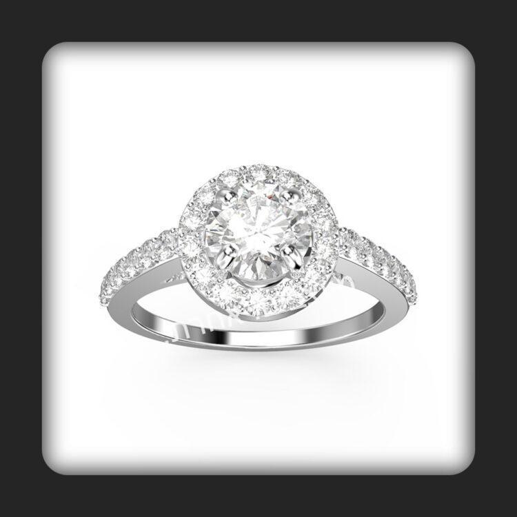 טבעת אירוסין דגם רויאל