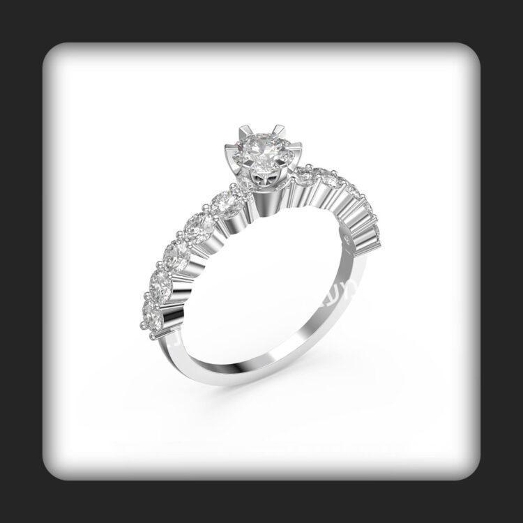 טבעת אירוסין דגם סטאר פלוס