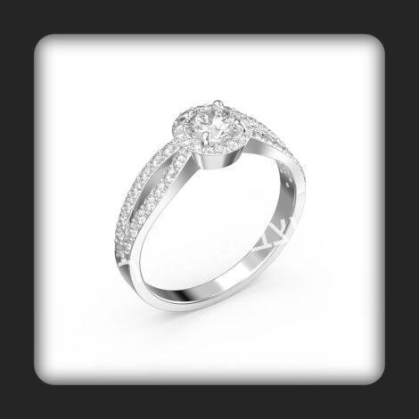 טבעת אירוסין דגם שי